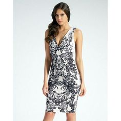 8c3a332ebf3 ant Women Bandage Deep V-Neck Floral Print Open Back Sleeveless White Midi  Dress