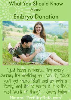 The Embryo Adoption Option