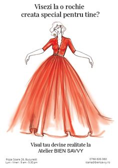 Bien Savvy - Rochii de seara - FOLLOW ME - From Couture to Custom Made