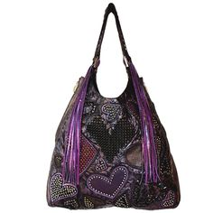 Chapa Overlay Shoulder Bag(FXM) With Fringe