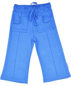 Baba Babywear hippe blauwe retro broek. baba-babywear.nl.emilea.be