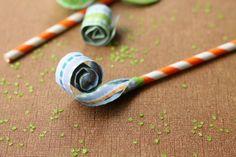 DIY Paper Blowers