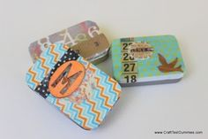 Upcycled Mint Tins | Creative Ways to Personalize with Washi Tape