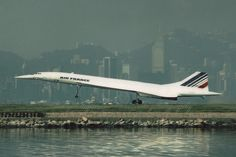 F-BTSD Aerospatiale-British Aerospace Concorde 101 Concorde, Kai Tak Airport, British Aerospace, Air France, International Airport, View Image, Airplanes, Hong Kong, Cool Photos