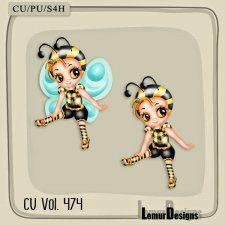 CU Vol 474 Sweet Bee #CUdigitals cudigitals.comcu commercialdigitalscrapscrapbookgraphics #digiscrap