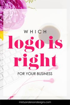 With so many choices how do you know which logo is right for your business? Learn about the 6 types of logos and how you can choose the right one for your biz. logos | logo design | branding | branding yourself | small business branding | branding your blog | small business tips | brand design | brand identity design | brand development