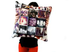 Give a lucky friend a pillow of memories! Design a style online with your fave Instagram photos for the perf dorm decoration! Instagram Throw Pillow, $48, stitchtagram.com