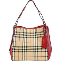 Burberry The Small Canter Horseferry Check Tote Bag fc28cccc95bc4