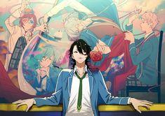 Hot Anime Boy, Anime Guys, Fallen Angel Book, Sakuma Rei, Monster Strike, Anime Life, Ensemble Stars, Anime Outfits, Pretty Art