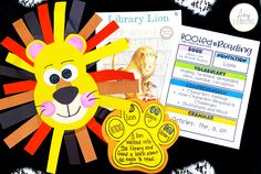 Students read Library Lion to learn about character feelings and mood while completing fun crafts!