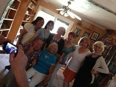 Crazy Chuck n Mom with 6 Hutch girls