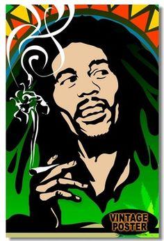 "New Bob Marley Ziggy Marley Jimmy Cliff A18 Cover Cartoon Poster 16"" x 11"" | eBay"