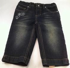 Girls Designer Jeans Size 4 New With Tags Arizona Brand - Free Shipping! $8.97 Kids Clothes Sale, Arizona, Jeans Size, Denim Shorts, Free Shipping, Tags, Girls, Men, Design