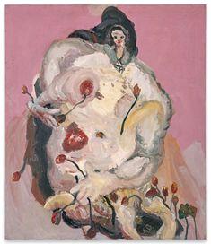 George Baselitz, Das Blumenmädchen (1965). Image courtesy Sammlung Hoffmann, Berlin.