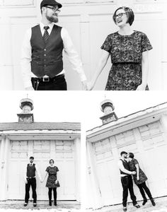 Creative {Engagement} Photo's - Black and White