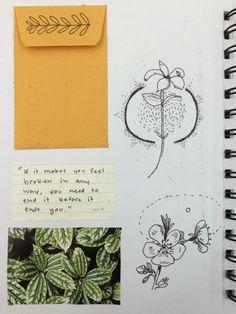 weird-milk on Tumblr Art journal inspiration