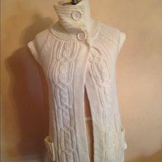 Spotted while shopping on Poshmark: White  vest! #poshmark #fashion #shopping #style #B.B Jeans #Jackets