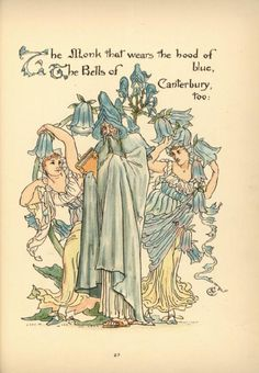 Flora's Feast (XXVI) - Walter Crane.