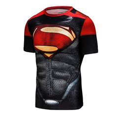 2016 marvel batman compression shirt fitness tights crossfit quick dry short sleeve t shirt Summer Men tee tops clothing. Yesterday's price: US $11.42 (9.44 EUR). Today's price: US $5.37 (4.42 EUR). Discount: 53%.