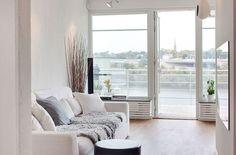 Scandinavian Design: Top Floor with a Garage in Stockholm | HomeDSGN