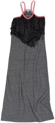 Joah Love Tinley Maxi Dress (Toddler/Kid) - Gray - Free Shipping