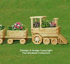 Landscape Timber Train and Car Plan Set