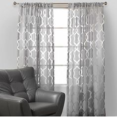 light grey walls with grey curtains