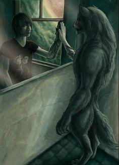 Werewolf reflection