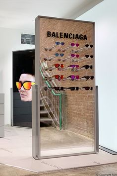 FormRoom collaborated with design agency Substance & Inhalt to produce international pop-up displays for luxury fashion house, Balenciaga & Dover St Market. Commercial Interior Design, Commercial Interiors, Cosmetic Design, Shop Fittings, Pop Up Shops, Retail Shop, Design Agency, Retail Design, Store Design