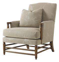 Twilight Bay Isabella Chair by Lexington Home Brands - Hamilton Park Interiors - Exposed Wood Chair Interior Design Salt Lake City, Park City, Provo, Sandy, St. George