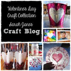 Collection of Valentine's Day Craft Tutorials at Sarah Jane's Craft Blog