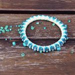 Už je jaro?/Spring already?☺️#beadjewelry#spring#jaro#beads#koralky#crocheting#crochetwithlove#hackovani#blueandwhite#bracelet#crochetbracelet#naramek