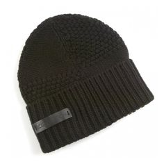 LOUIS VUITTON Wool Bonnet Beanie Hat Brown ❤ liked on Polyvore 6fc881a4b68