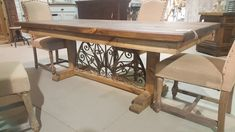 Coastal Furniture, Trading Company, Big Fish, Entryway Tables, Dining Table, Iron, Metal, Home Decor, Homemade Home Decor
