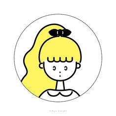 ガールズイラスト girl illustration