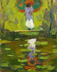 Gertrude Fiske (1878-1961) American Impressionist Painter