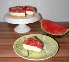 Wassermelonen Kühlschranktorte - ohne Backen