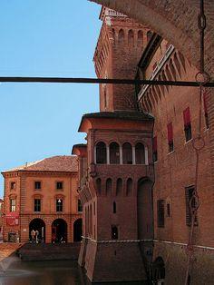 Castello Estense - Ferrara, Emilia Romagna, Italy