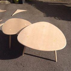 DIY - table basse tripode gigogne