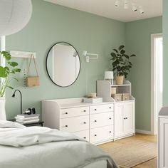 IKEA - HAUGA Storage combination, White