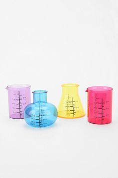 Chemistry shot glasses from Urban Outfitters.