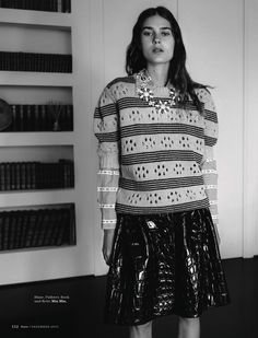 98fb87ecb61 Flair Magazine 2015 Crocodile, Fashion Photo, Fashion Beauty, Miu Miu,  Python,