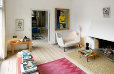 The Home of Designer Finn Juhl Is a Study in Timelessness (& Perfectly Placed Furniture)
