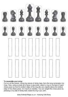 Chess pieces printable