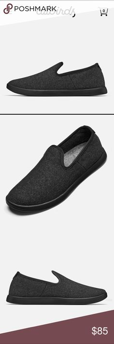 Allbirds Wool Loungers W Size 9 Natural Black The most comfortable shoes ever. These have only been worn twice. I have them in grey now and love them. They are great as slippers but are meant to be worn out in the wild! No socks required 😎 allbirds Shoes Flats & Loafers