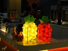 The most photogenic fruit! #Pineapple #Lamps #LuvALamps #lighting #Decor #PuzzleLamps  1-866-544-7554