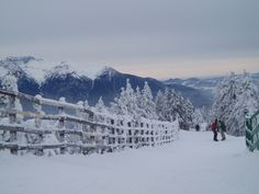 Perfect weather....each day @Poiana Brasov ski resort. We'll meet there!!!