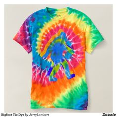 Bigfoot Tie Dye T Shirt