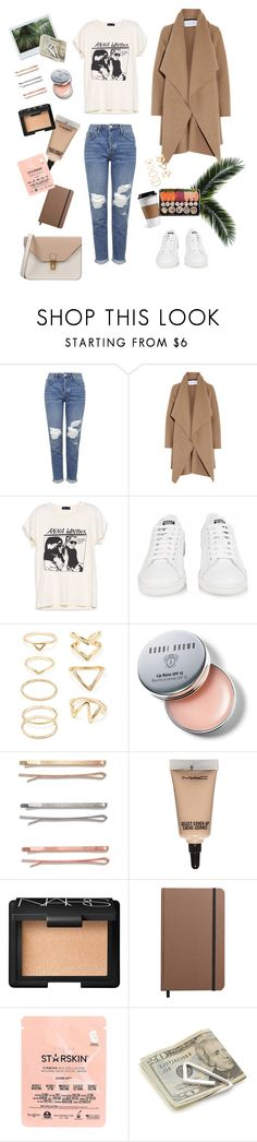 """Untitled #73"" by marylobo99 ❤ liked on Polyvore featuring Topshop, Harris Wharf London, adidas, Forever 21, Bobbi Brown Cosmetics, Madewell, MAC Cosmetics, NARS Cosmetics, Shinola and Starskin"