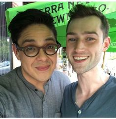 George Salazar and Will Connolly!